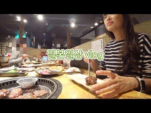야끼니꾸의 날, 돈키호테, 모스버거, 유기견까페, 회전초밥 | 일본일상vlog