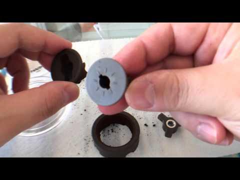 ハリオ コーヒーミル・セラミックスリム MSS-1Bを清掃 -Clean the Hario coffee mill ceramic Slim MSS-1B.